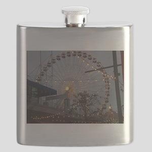 Chicago Ferris wheel Flask