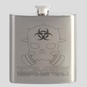 Zombie Apocalypse - Zombie Response Team t-s Flask