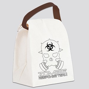Zombie Apocalypse - Zombie Respon Canvas Lunch Bag