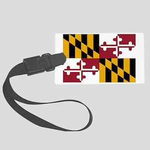 Maryland State Flag Large Luggage Tag