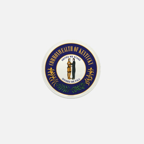 Kentucky State Seal Mini Button