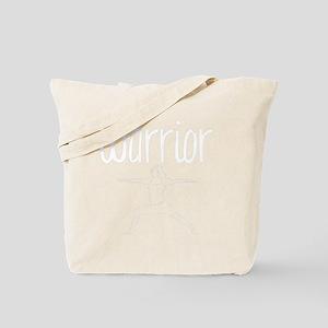 Dark Warrior Asana Tote Bag