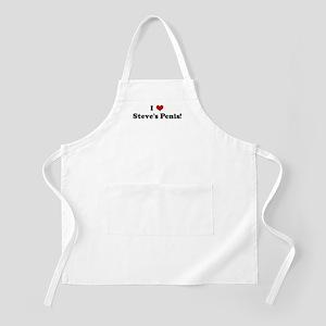 I Love Steve's Penis! BBQ Apron