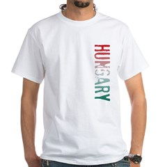 Hungary White T-Shirt