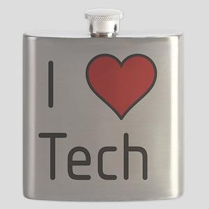 I love Tech! Flask