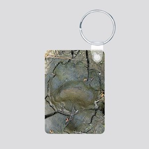 blackbeartrackRFsmallposte Aluminum Photo Keychain