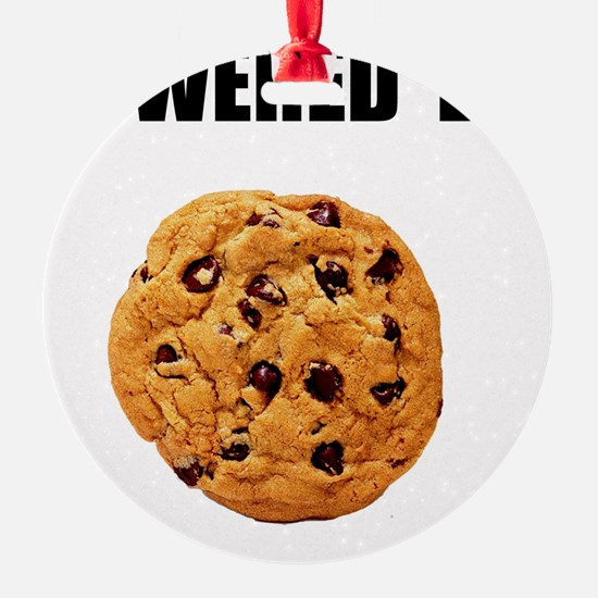 Powered By Cookie Ornament