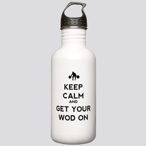 Keep Calm and Get Your Stainless Water Bottle 1.0L