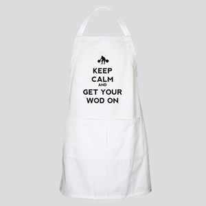 Keep Calm and Get Your WOD On Apron