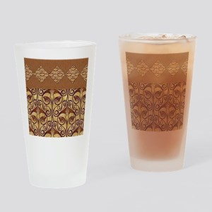 Pretty Egyptian Pattern Drinking Glass