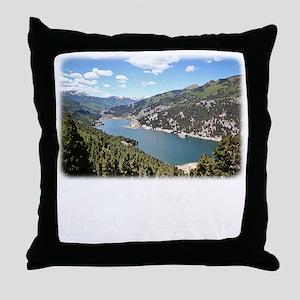 Lake City Dreaming Throw Pillow