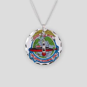 uss george washington patch  Necklace Circle Charm