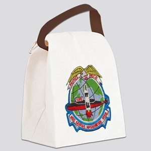 uss george washington patch trans Canvas Lunch Bag