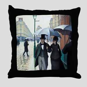Gustave Caillebotte Throw Pillow