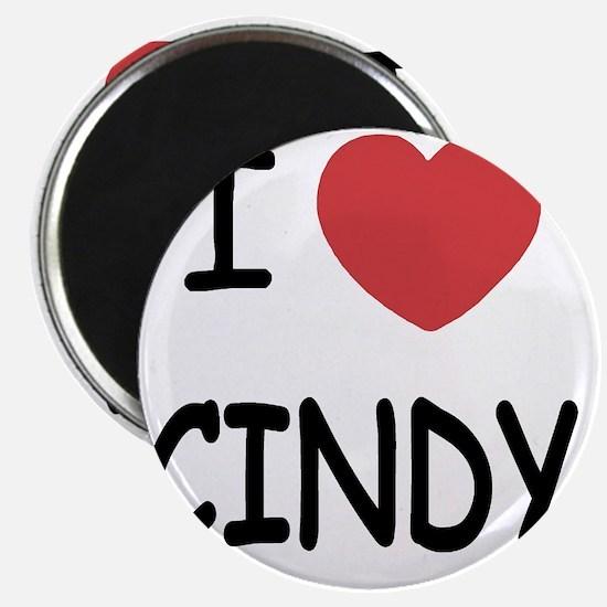 I heart CINDY Magnet