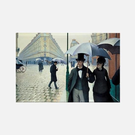 Gustave Caillebotte Rectangle Magnet