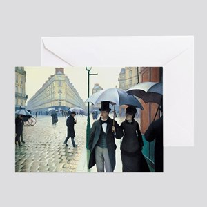 Gustave Caillebotte Greeting Card