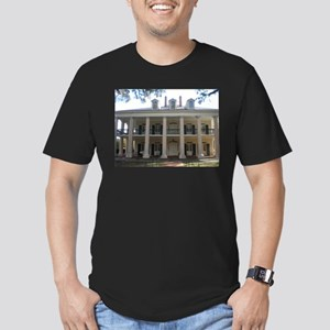 460e4b81390 Oak Alley Plantation Picture Frame958316825 Men s Fitted T-Shirts ...
