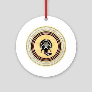 MIMBRES SUN BOWL DESIGN Ornament (Round)