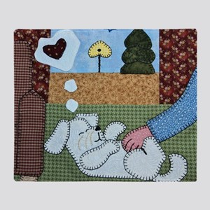 Belly Rubs by Pat Casson Throw Blanket
