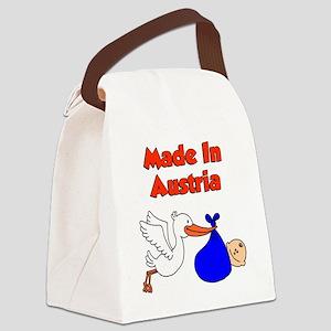 Made In Austria Boy Canvas Lunch Bag