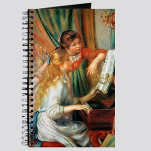 Renoir Girls At The Piano Journal