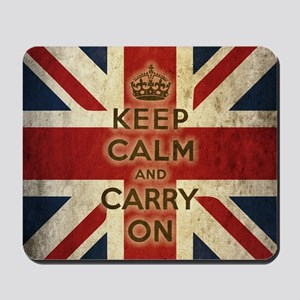 Vintage Keep Calm Mousepad