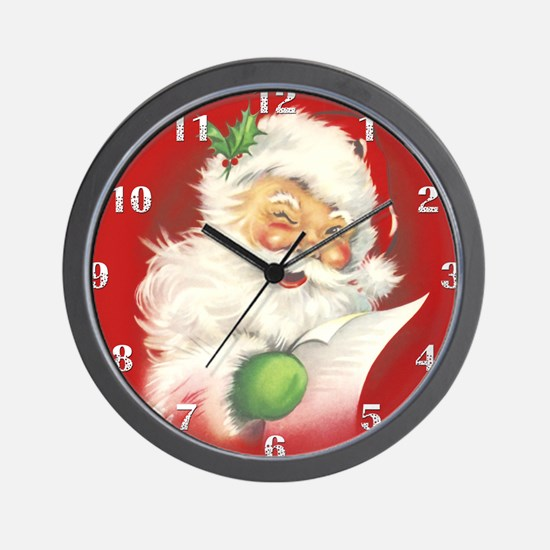 Christmas Clocks | Christmas Wall Clocks | Large, Modern, Kitchen