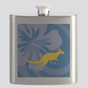 Kangaroo Shower Curtain Flask