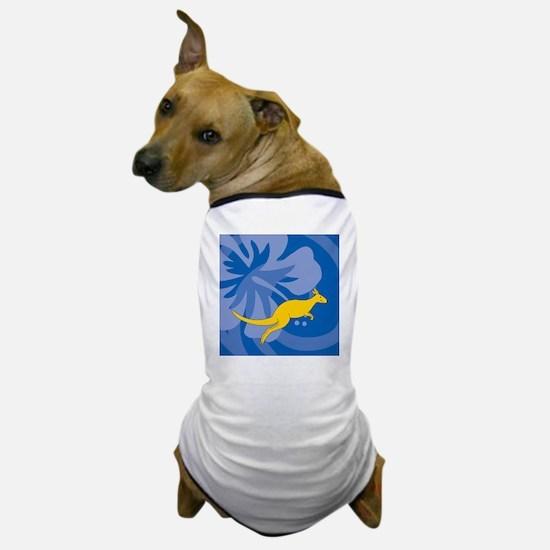 Kangaroo Shower Curtain Dog T-Shirt