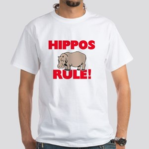 Hippos Rule! T-Shirt