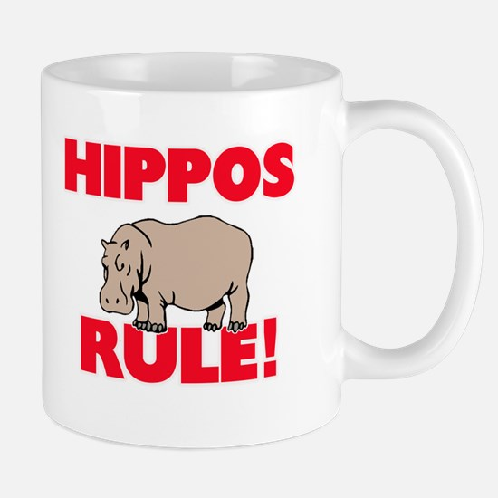 Hippos Rule! Mugs