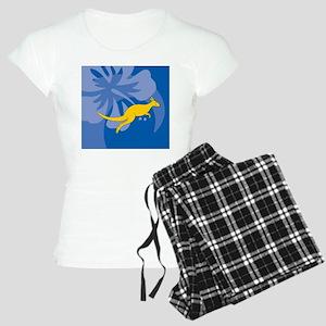 Kangaroo Beer Label Women's Light Pajamas