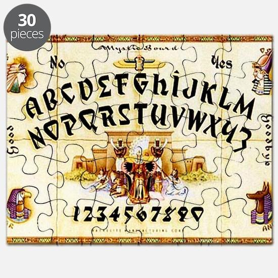 Vintage Egyptian Ouija Board Puzzle