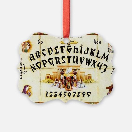 Vintage Egyptian Ouija Board Ornament