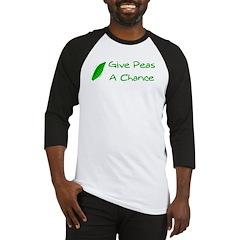 Give Peas a Chance Baseball Jersey