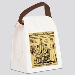 Vintage ouija talking board Ad Canvas Lunch Bag