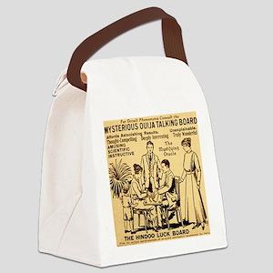 Vintage ouija talking board Ad Canvas Lunch Bag