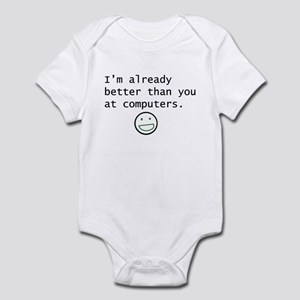 Computers Infant Bodysuit