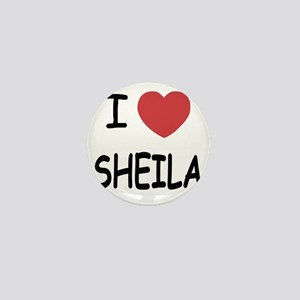 I heart SHEILA Mini Button