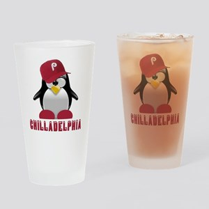 Chilladelphia Drinking Glass