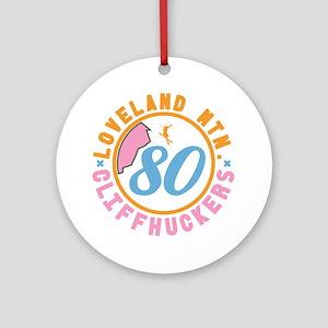 Loveland Cliffhuckers Round Ornament
