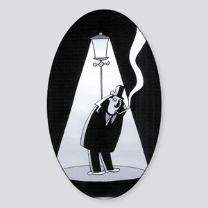 FILM NOIR Sticker (Oval)