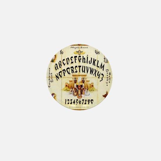 Vintage Egyptian Ouija Board Mini Button