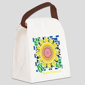 Sunflower Omm W Canvas Lunch Bag