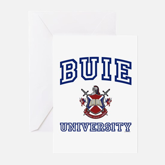 BUIE University Greeting Cards (Pk of 10)