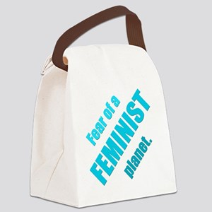 Feminist Planet Canvas Lunch Bag