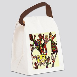 We Are Family Canvas Lunch Bag