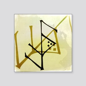 "Protection Talisman Square Sticker 3"" x 3"""