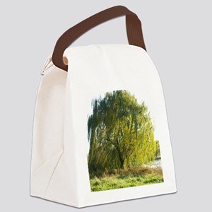 Blowing in the wind Canvas Lunch Bag